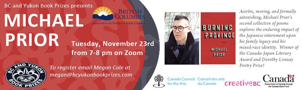 BC Yukon Book Prizes